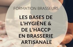 [FORMATION]Les bases de l'hygiène et de l'HACCP en brasserie