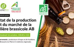 [WEBINAIRE] État des lieux de la filière brassicole biologique en Auvergne-Rhône-Alpes