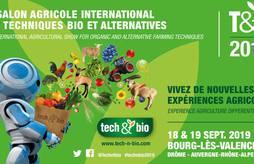 <p>Tech&Bio :salon international agricole situé dans la Drôme</p>