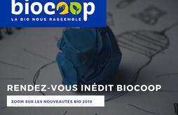 Rendez-vous inédit Biocoop : zoom sur les nouveautés bio 2019