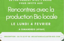 Rencontres avec la production Bio locale