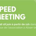 Speed Meeting des membres du Cluster Bio