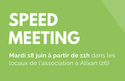 Speed Meeting des membres du Cluster Bio